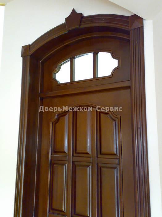 Эксклюзивная дверь с фрамугой