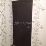 Шпонированная дверь «Глория» цвета венге