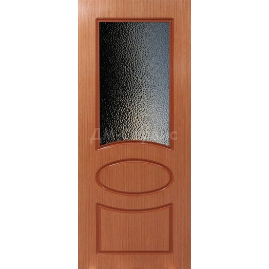 Межкомнатная шпонированная дверь «Джаз» (со стеклом)