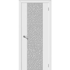 Межкомнатная дверь эмаль «Флейта» (глухая)