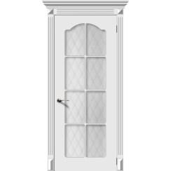 Межкомнатная дверь эмаль «Классика» (со стеклом)
