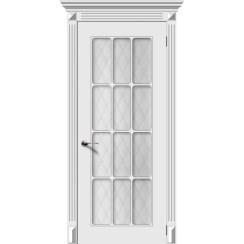 Межкомнатная дверь эмаль «Ноктюрн 2» (со стеклом)