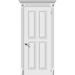 Межкомнатная дверь эмаль «Ретро 4» (глухая)