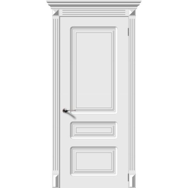 Межкомнатная дверь эмаль «Трио» (глухая)