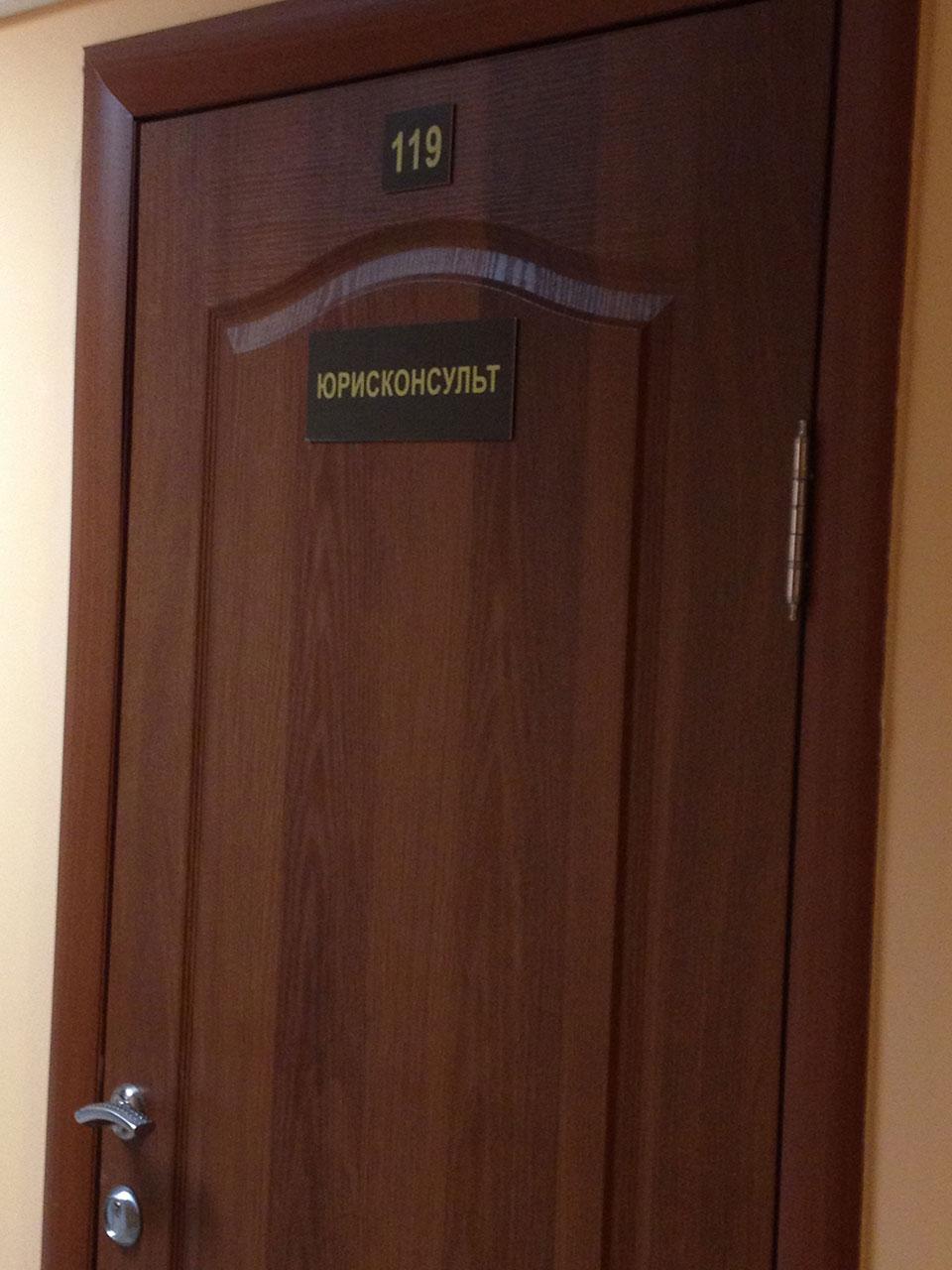 Межкомнатная ламинированная дверь в кабинет