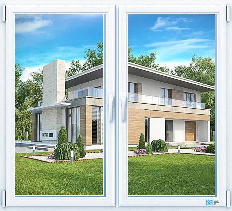 Оконный профиль Rehau Intelio Design