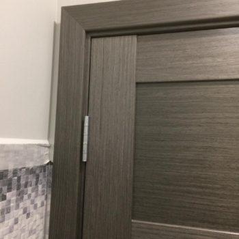 Установка дверного наличника под 45 градусов