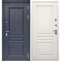 Входная металлическая дверь «МД-45» (белая матовая)