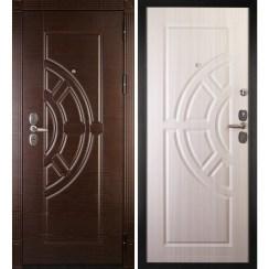 Входная металлическая дверь «Сударь-8» (сандал белый)