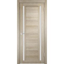 Межкомнатная дверь экошпон Z-3 стекло сатинато