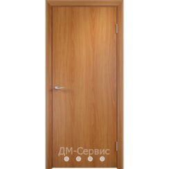 Строительный блок дверной ДПГ с вентиляционной решёткой-2 ламинированный