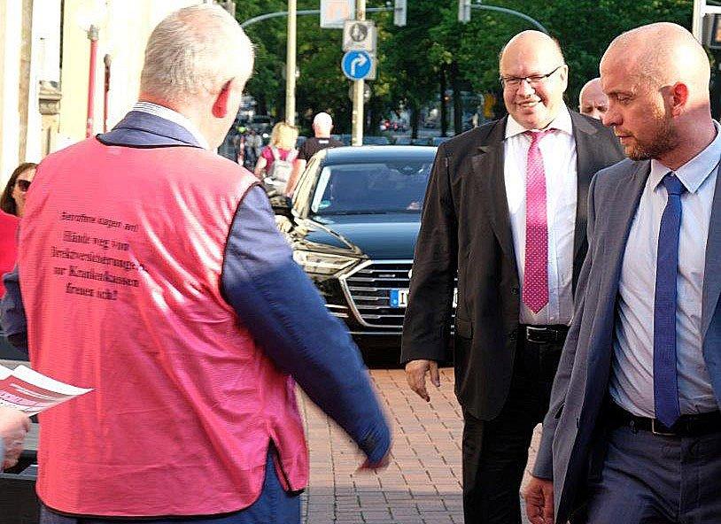 DVG und Wirtschaftsminister Peter Altmaier