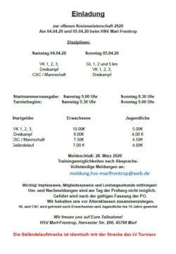 Kreisturnier Marl-Frentrop