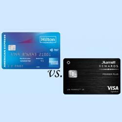 Compare credit card rewards, bonuses, features and offers. Hilton Honors Amex Card Vs Marriott Rewards Premier Plus Finder Com
