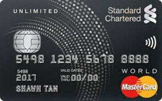 Standard Chartered Unlimited Cashback Credit Card Review September 2020   Finder