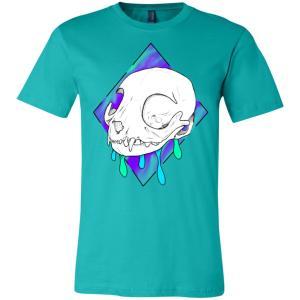 Unisex Dripping Cat T-Shirt