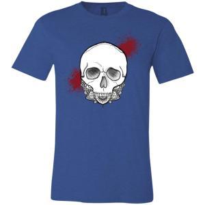 Unisex Exploding Skull T-Shirt