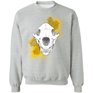 Honey Bear Crewneck Pullover Sweatshirt
