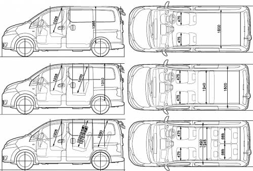 Comparing dimensions of popular VW camper with the planned
