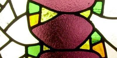 Vidrio de color en masa