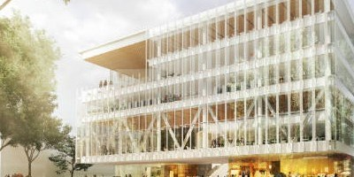 Biblioteca de cristal, el primer gran proyecto del Distrito Tec