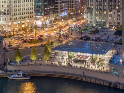 Conoce la Apple Store en Michigan Avenue, Chicago