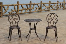 Kontiki Bistro Sets - Metal Antique Bronze