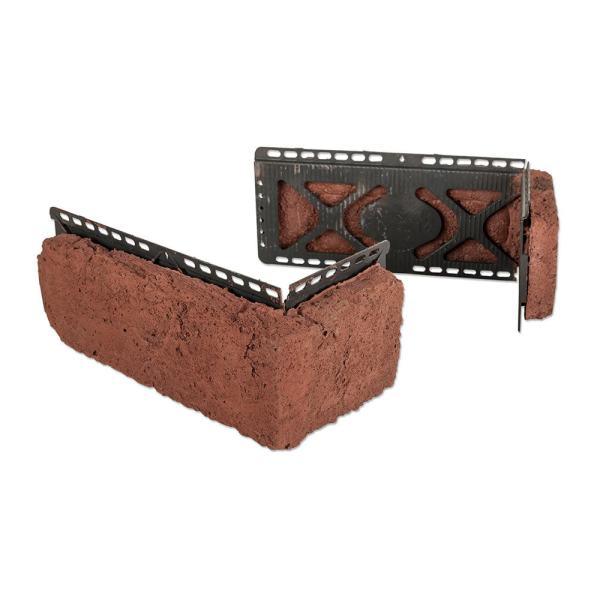 M Rock InstallWithScrews Manufactured Stone Brick