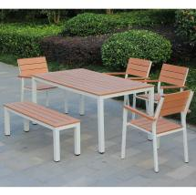 Kontiki Dining Sets - Composite Medium Ideal 6 Seats