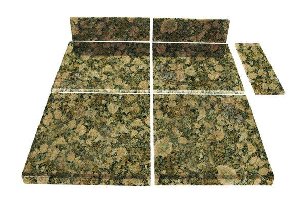 Pedra Granite Modular Kitchen Tiles - Topstone Collection