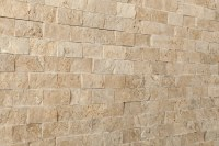 Kesir Travertine Mosaic - Stacked Stone Brick Series Noce ...