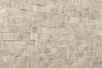Kesir Travertine Mosaic - Stacked Stone Brick Series ...