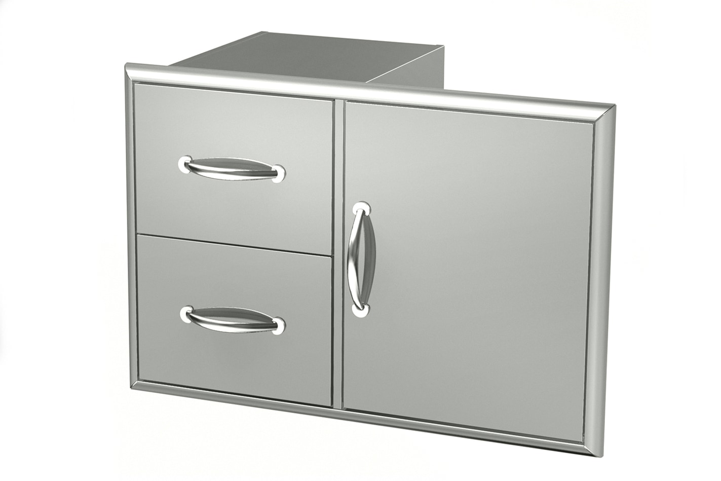 stainless steel kitchen cart with drawers exhaust hood broilchef double