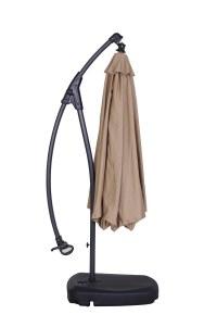 Kontiki Shade & Cooling Offset Patio Umbrellas 10 ft ...
