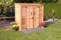 Hewetson Storage Sheds - Compact Series 6.5' x 3' Patio ...