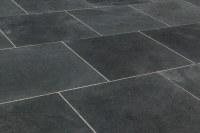 "Janeiro Slate Tile Montauk Black / 16""x16"" / Natural"