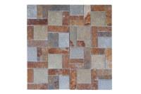 Roterra Slate Tile - Meshed Back Patterns Autumn Blend ...