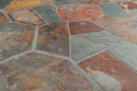 Roterra Slate Tile - Meshed Back Patterns California Gold ...