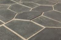 Roterra Slate Tile - Meshed Back Patterns Silver Black ...