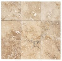 Izmir Travertine Tile - Honed and Filled Chiaro Rustic ...