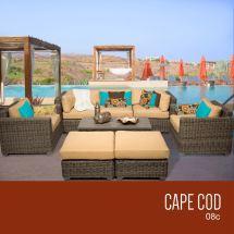 Tk Classics Cape Collection Outdoor Wicker Patio