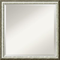 Amanti Art SoHo Silver Wall Mirror