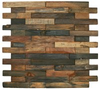 CNK Tile Pebble Tiles Reclaimed Boat Wood Tile