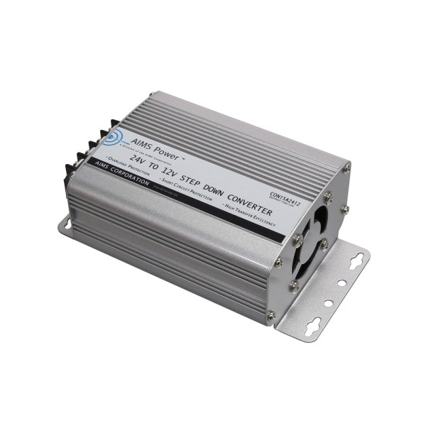 Aims Power Dc Converter 24 12vdc 12 Volt -isolated 15 Amp