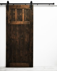 Dogberry Collections Craftsman Barn Door Alder / 36 inches ...
