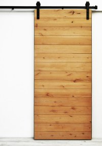 Dogberry Collections Latitude Barn Door Alder / 36 inches ...