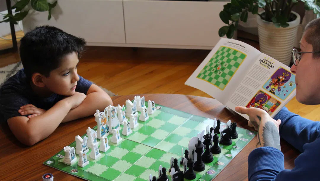 8 Benefits of Reading Story Time Chess Aloud to Your Family