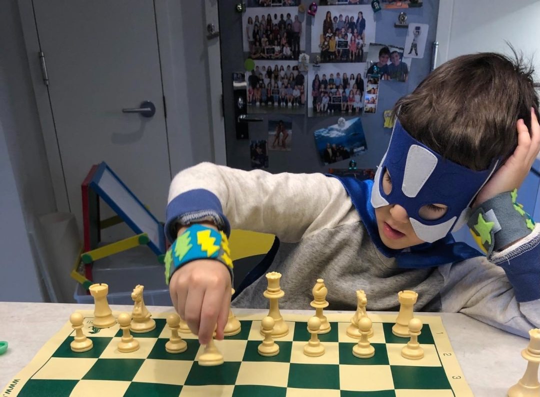 Chess sparks the imagination