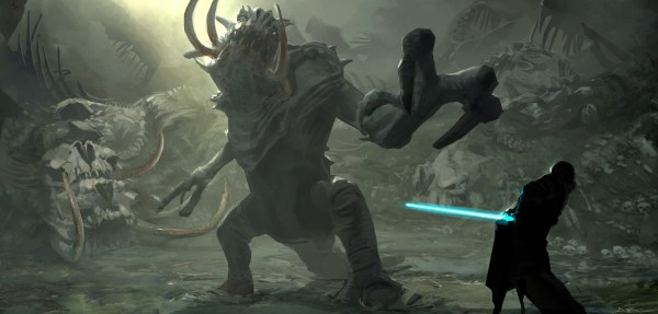 Star Wars Force Unleashed Concept Art