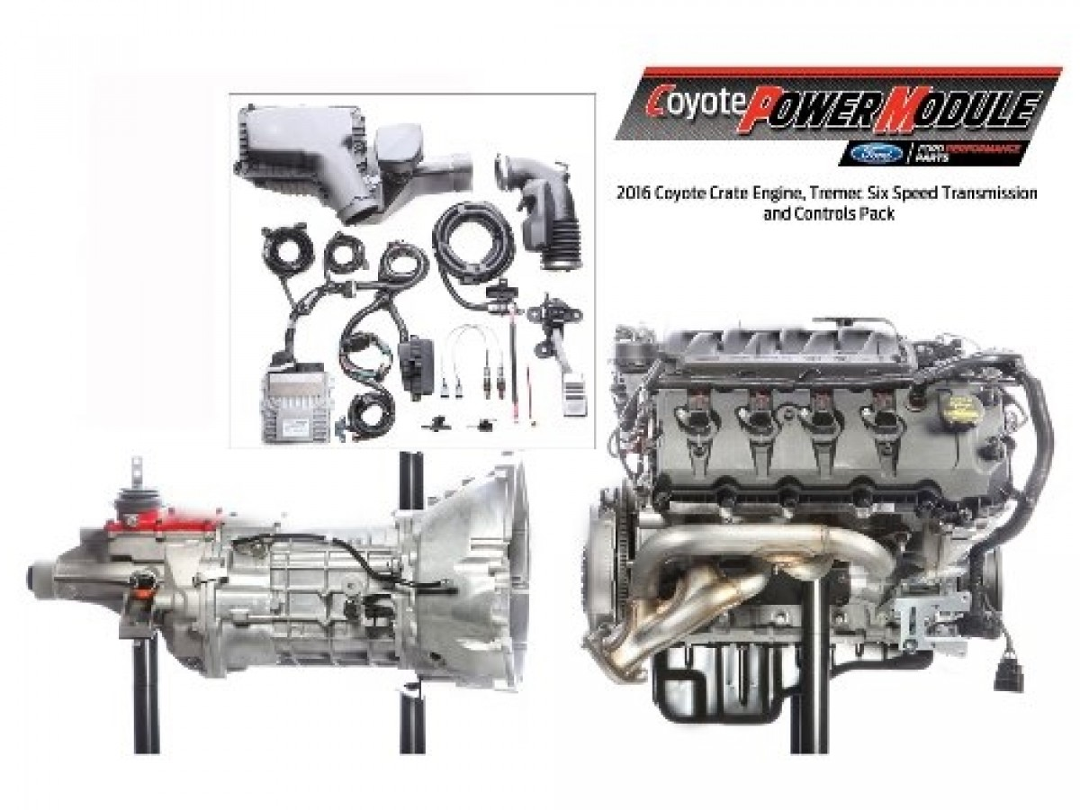Ford Performance Coyote Power Module 6-Speed Manual